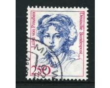 1989 - LOTTO/12488 - GERMANIA - 250p. DONNE CELEBRI - USATO