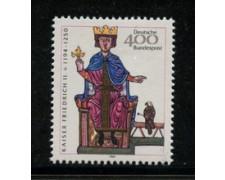 1994 - LOTTO/12491 - GERMANIA - IMPERATORE FEDERICO - NUOVO