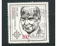 1996 - LOTTO/12495 - GERMANIA - 100p. VON BODELSCHWINGH - USATO