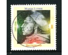 1996 - LOTTO/12496 - GERMANIA - 100p. MARTIN LUTERO - USATO