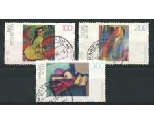 1996 - LOTTO/12498 - GERMANIA - PITTORI TEDESCHI 3v. - USATI