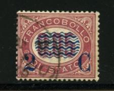 1878 - LOTTO/12500 - REGNO - 2c. SU 0,05 LACCA - USATO