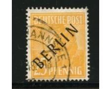1948 - LOTTO/12502 - BERLINO - 25 p. GIALLO  - USATO