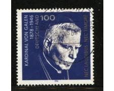 1996 - LOTTO/12532 - GERMANIA - 100p. CARDINALE VON  GALEN - USATO