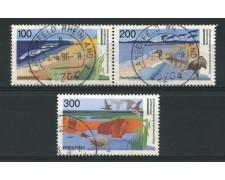 1996 - LOTTO/12541 - GERMANIA - PARCHI NAZIONALI 3v. - USATI
