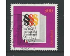 1996 - LOTTO/12542 - GERMANIA - CODICE CIVILE - USATO