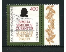 1996 - LOTTO/12543 - GERMANIA - 400p.  SAMUEL HAHNEMANN - USATO