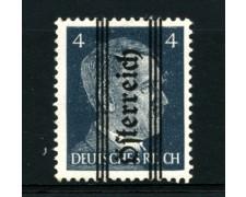 1945 - LOTTO/12552 - AUSTRIA - 4p. AZZ.ARDESIA - LING.