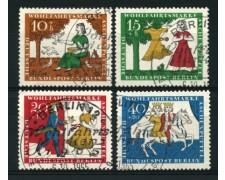 1965 - LOTTO/12595 - BERLINO - BENEFICENZA 4v. -  USATI