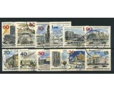 1965/66 - LOTTO/12596 - BERLINO - EDIFICI MODERNI 12v. - USATI