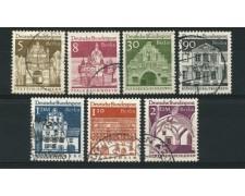 1966 - LOTTO/12597 - BERLINO - EDIFICI STORICI 7v. - USATI