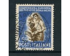 1950 - REPUBBLICA - 55 LIRE TABACCO - USATO - LOTTO/12601H