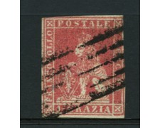 TOSCANA - 1851 - lotto/12719 - 1 cr. CARMINIO CHIARO - USATO