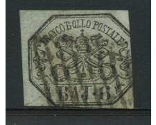 STATO PONTIFICIO - 1852 - LOTTO/12722 -  6 BAJ GRIGIO VERDASTRO - USATO