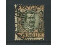 1910 - LOTTO/12739 - REGNO - 10 LIRE FLOREALE - USATO