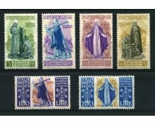 1948 - LOTTO/12776 - REPUBBLICA  - SANTA CATERINA  6v. - NUOVI