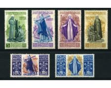 1948 - LOTTO/12777 - REPUBBLICA  - SANTA CATERINA  6v. - NUOVI