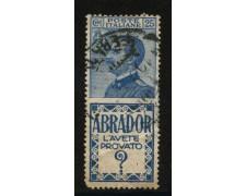 1924 - LOTTO/12836 - REGNO - 25c. ABRADOR - USATO