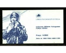 1984 - LOTTO/12859 - PORTOGALLO - UNIFORMI MILITARI LIBRETTO - NUOVO