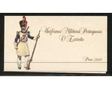 1985 - LOTTO/12860 - PORTOGALLO -  UNIFORMI MILITARI LIBRETTO - NUOVO