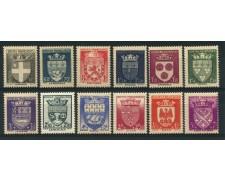 1942 - LOTTO/12883 - FRANCIA - SOCCORSO NAZIONALE 12v. - NUOVI