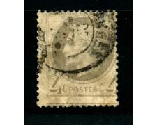 1862/70 - LOTTO/12888 - FRANCIA - 4c. GRIGIO NAPOLEONE III° - USATO