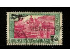 1933 - LOTTO/12912 - MONACO - 1,50 SU 5 Fr. POSTA AEREA - USATO