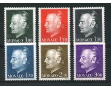 1978 - LOTTO/12914 - MONACO - PRINCIPE RANIERI 6v. - NUOVI