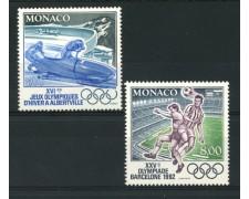 1992 - LOTTO/12917 - MONACO - GIOCHI OLIMPICI 2v. - NUOVI