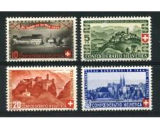 1944 - LOTTO/12922 - SVIZZERA - PRO PATRIA 4v. - NUOVI