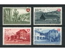 1948 - LOTTO/12923 - SVIZZERA - PRO PATRIA 4v. - NUOVI