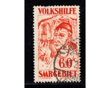 1931 - LOTTO/12956 - SARRE - 60+ 20c. BENEFICENZA - USATO