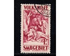 1931 - LOTTO/12957 - SARRE - 1Fr. + 50 BENEFICENZA - USATO