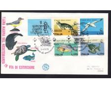 1978 - LOTTO/13003 - REPUBBLICA - SALVAGURDIA DEL MARE - BUSTA FDC