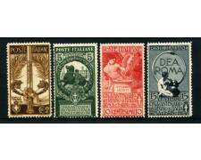 1911 - LOTTO/13015 - REGNO -  UNITA' D'ITALIA 4v. - NUOVI