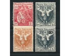 1915 - LOTTO/13017 - REGNO - PRO CROCE ROSSA 4v. - NUOVI