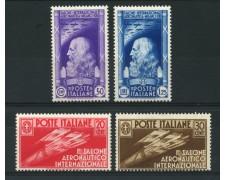 1935 - LOTTO/13028 - REGNO - SALONE AERONAUTICO  4v. - NUOVI