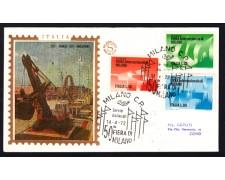 1972 - LOTTO/13033 - REPUBBLICA - 50° FIERA DI MILANO - BUSTA FDC