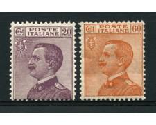 1926 - LOTTO/13040 - REGNO -  EFFIGIE DI VITTORIO EMENUELE III° 2v. - NUOVI