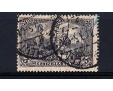 1902 - LOTTO/13085 - GERMANIA REICH - 3m. VIOLETTO - USATO