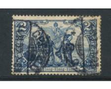 1902 - LOTTO/13086A - GERMANIA - 2 MARCHI AZZURRO - USATO