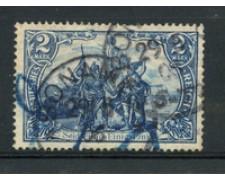 1902 - LOTTO/13086B - GERMANIA - 2 MARCHI AZZURRO - USATO