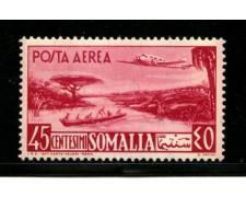 1950/51 - LOTTO/13096 - SOMALIA AFIS - 45c. POSTA AEREA - LING.
