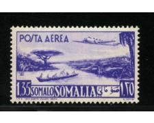 1950/51 - LOTTO/13100 - SOMALIA AFIS - 1,35 s. POSTA AEREA - LING.