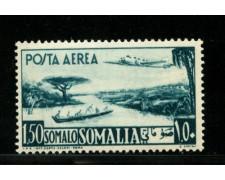 1950/51 - LOTTO/13101 - SOMALIA AFIS - 1,50 s. POSTA AEREA - LING.
