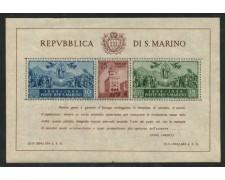 1945 - LOTTO/13198 - SAN MARINO - CARDUCCI  FOGLIETTO DENTELLATO - NUOVO