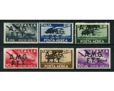 1947 - LOTTO/13226 - TRIESTE A - POSTA AEREA 6v. - NUOVI