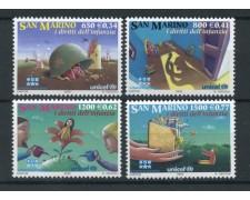 2000 - LOTTO/13281 - SAN MARINO - DIRITTI INFANZIA 4v. - NUOVI