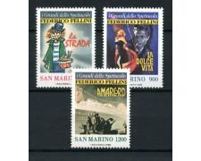1988 - LOTTO/13314 - SAN MARINO - FEDERICO FELLINI 3v.-  NUOVI