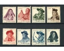 1947 - LOTTO/13321 - PORTOGALLO -  COSTUMI REGIONALI  8v. - NUOVI